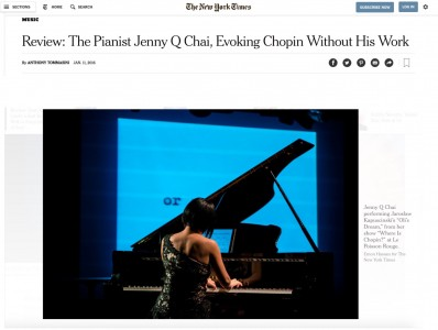 nytimes review chopin